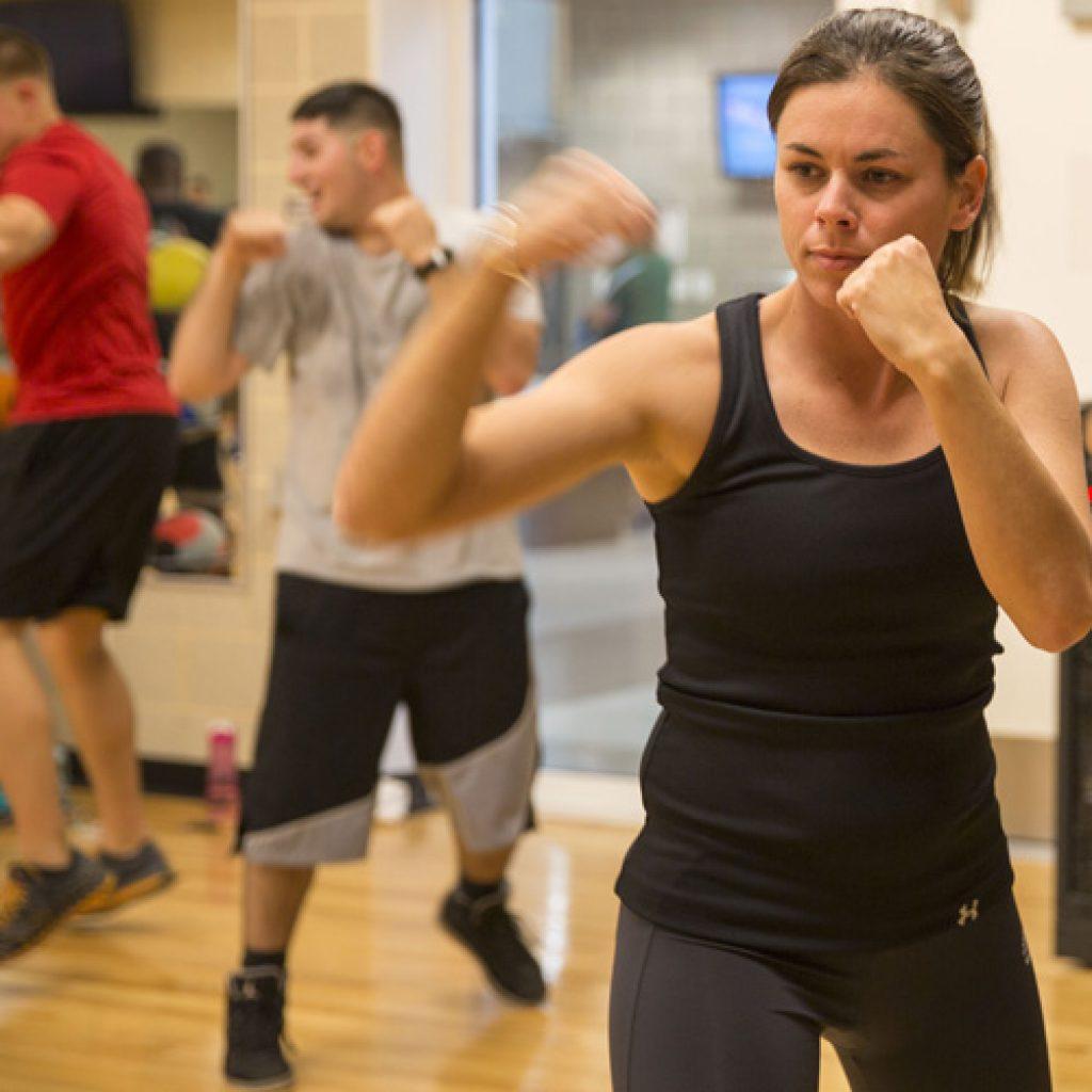 Kickboxing im Sports Life Strausberg