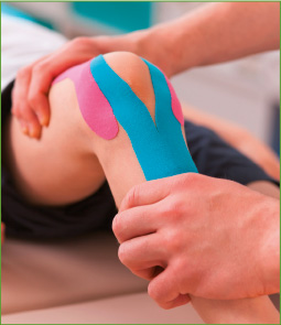 Kinesiotaping bei SPORTS LIFE Physio in Strausberg
